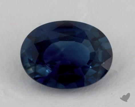 <b>1.26</b> carat Oval Natural Blue Sapphire