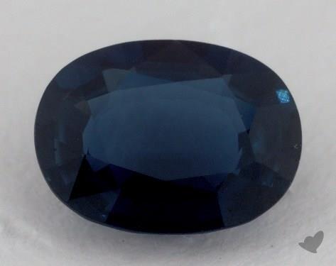 <b>2.10</b> carat Oval Natural Blue Sapphire