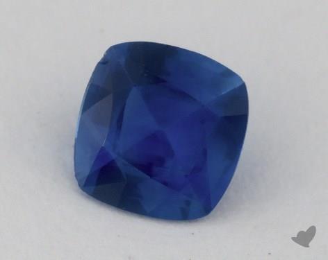 <b>0.83</b> carat Cushion Natural Blue Sapphire