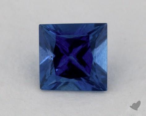 <b>0.72</b> carat Princess Natural Blue Sapphire