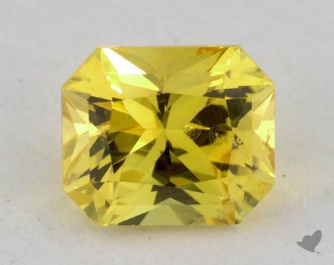 <b>0.98</b> carat Radiant Natural Yellow Sapphire