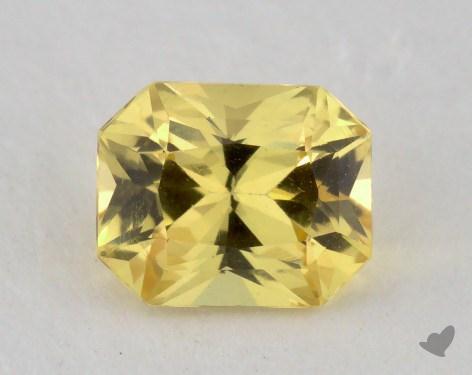 <b>0.90</b> carat Radiant Natural Yellow Sapphire