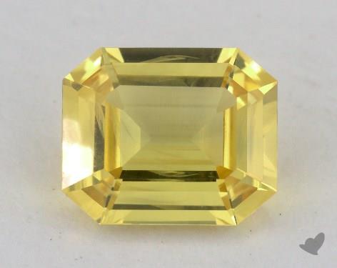 <b>2.18</b> carat Radiant Natural Yellow Sapphire