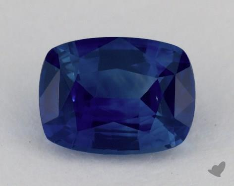 <b>1.30</b> carat Cushion Natural Blue Sapphire