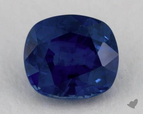 <b>1.28</b> carat Cushion Natural Blue Sapphire