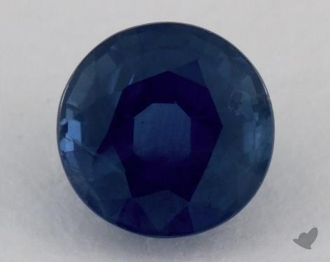 <b>1.12</b> carat Round Natural Blue Sapphire