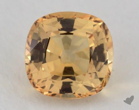 <b>1.05</b> carat Cushion Natural Yellow Sapphire