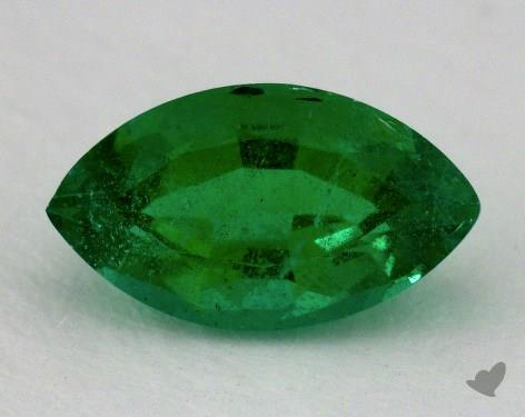 <b>1.46</b> carat Marquise Natural Green Emerald