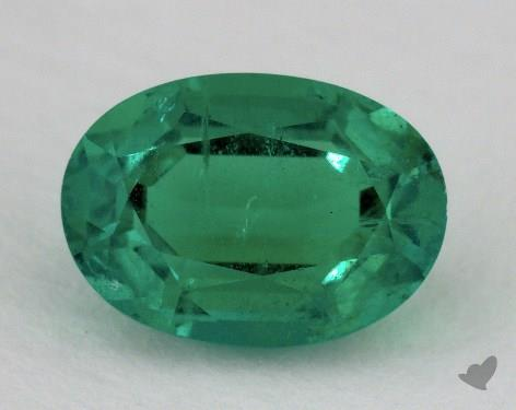 <b>1.25</b> carat Oval Natural Green Emerald
