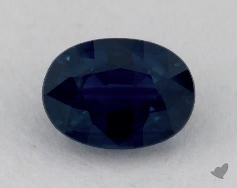 <b>1.07</b> carat Oval Natural Blue Sapphire