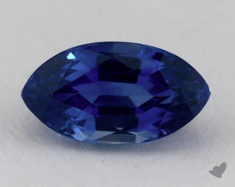 <b>1.92</b> carat Marquise Natural Blue Sapphire