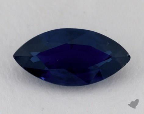 <b>2.73</b> carat Marquise Natural Blue Sapphire
