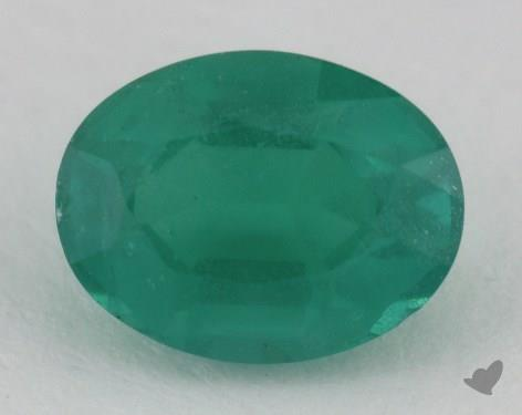 <b>2.55</b> carat Oval Natural Green Emerald