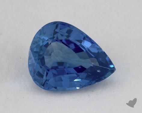 <b>1.84</b> carat Pear Natural Blue Sapphire