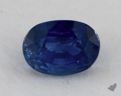 <b>1.31</b> carat Oval Natural Blue Sapphire