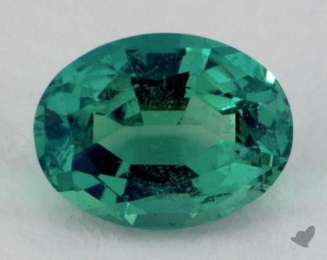 <b>2.55</b> carat Oval Natural Green Emerald
