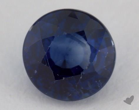 <b>1.01</b> carat Round Natural Blue Sapphire
