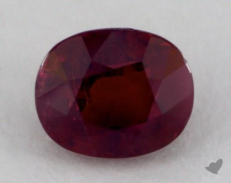 <b>2.30</b> carat Oval Natural Ruby