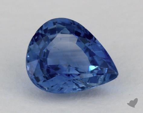 <b>1.77</b> carat Pear Natural Blue Sapphire