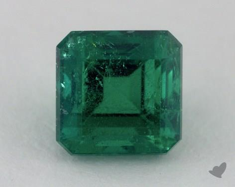 <b>2.34</b> carat Asscher Natural Green Emerald