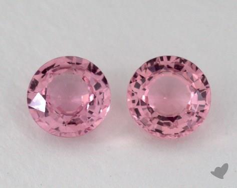 <b>2.12</b> Total Carat Weight Round Natural Pink Sapphires