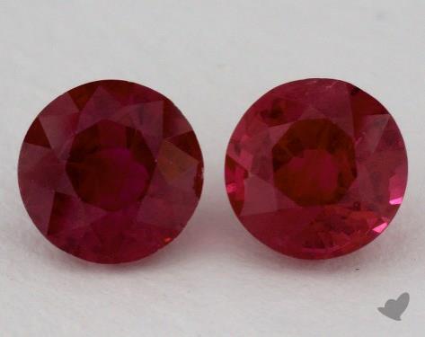 <b>2.42</b> carat Round Natural Ruby