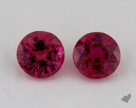 <b>1.02</b> Total Carat Weight Round Natural Rubiess