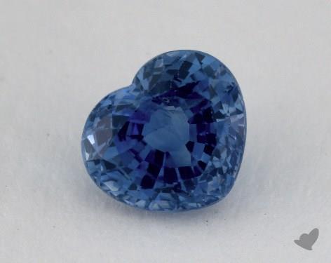 <b>1.97</b> carat Heart Natural Blue Sapphire