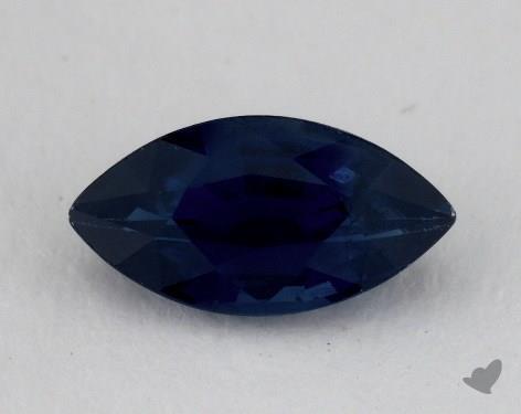 <b>1.29</b> carat Marquise Natural Blue Sapphire
