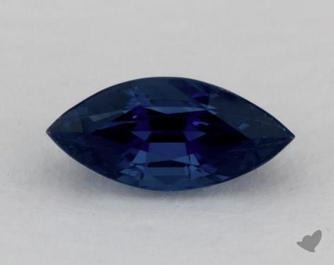 <b>1.62</b> carat Marquise Natural Blue Sapphire