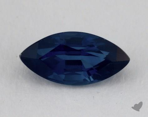 <b>1.55</b> carat Marquise Natural Blue Sapphire