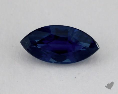 <b>1.04</b> carat Marquise Natural Blue Sapphire