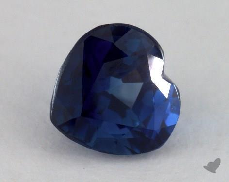 <b>2.01</b> carat Heart Natural Blue Sapphire