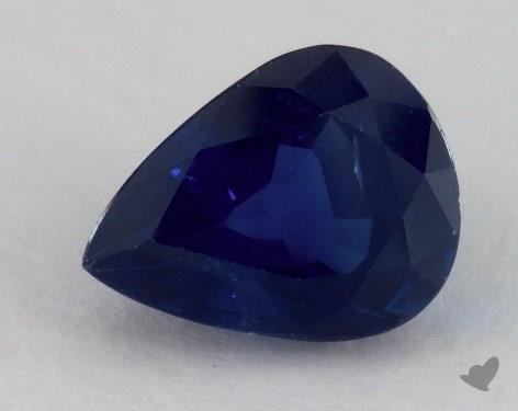 <b>1.97</b> carat Pear Natural Blue Sapphire