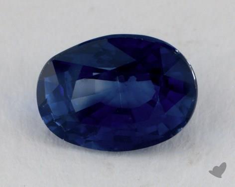 <b>2.02</b> carat Oval Natural Blue Sapphire