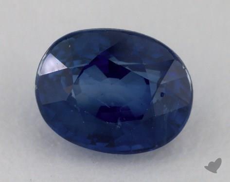 <b>1.21</b> carat Oval Natural Blue Sapphire