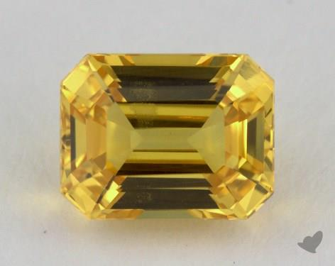 <b>3.29</b> carat Emerald Natural Yellow Sapphire
