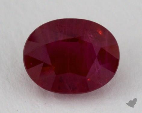 <b>2.37</b> carat Oval Natural Ruby