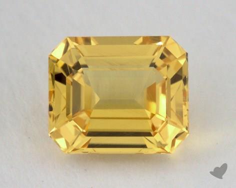 <b>2.69</b> carat Emerald Natural Yellow Sapphire