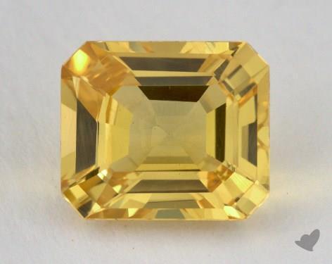 <b>4.22</b> carat Emerald Natural Yellow Sapphire