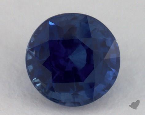 <b>1.22</b> carat Round Natural Blue Sapphire