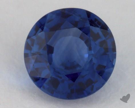 <b>1.15</b> carat Round Natural Blue Sapphire