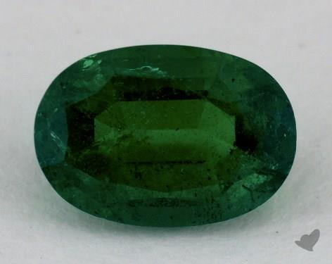 <b>1.48</b> carat Oval Natural Green Emerald