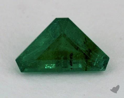 <b>1.01</b> carat Trillion Natural Green Emerald