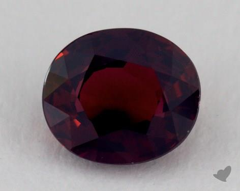 <b>1.06</b> carat Oval Natural Ruby