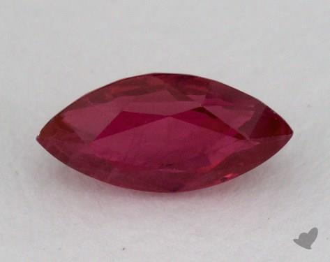 <b>1.07</b> carat Marquise Natural Ruby