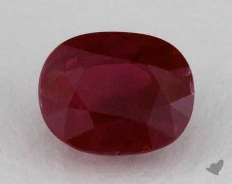 <b>1.71</b> carat Oval Natural Ruby
