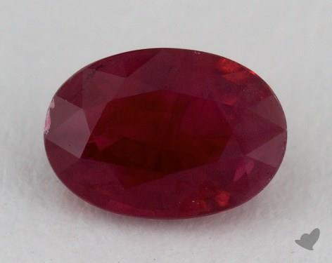 <b>1.38</b> carat Oval Natural Ruby