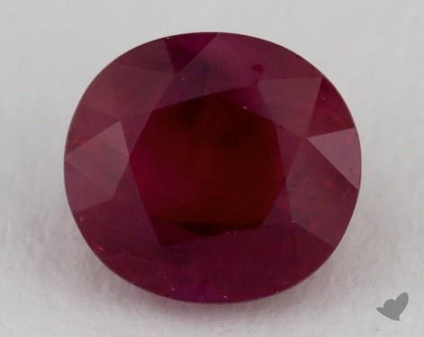 <b>1.76</b> carat Oval Natural Ruby