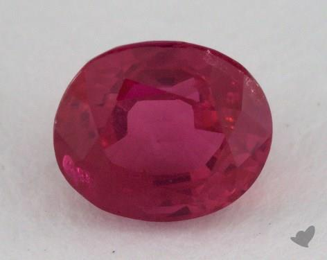 <b>1.63</b> carat Oval Natural Ruby